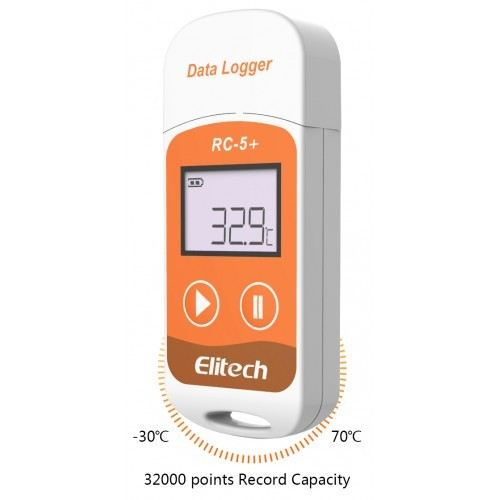 ELITECH RC-5+ USB TEMPERATURE DATA-LOGGER