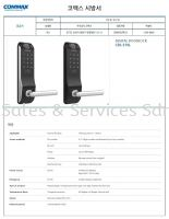 Commax Digital Door Handle 数码门手把 (Made In Korea) Fingerprint 指纹