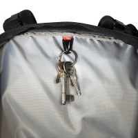 Lid compartment with key holder