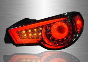 Toyota FT-86 LED Light Bar Sequantial Signal Tail Lamp 12-16