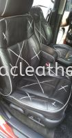 Hummer H2 Cover Spray & Replace Nappa Leather Seat
