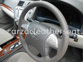TOYOTA CAMRY 08 REPLACE STEERING LEATHER