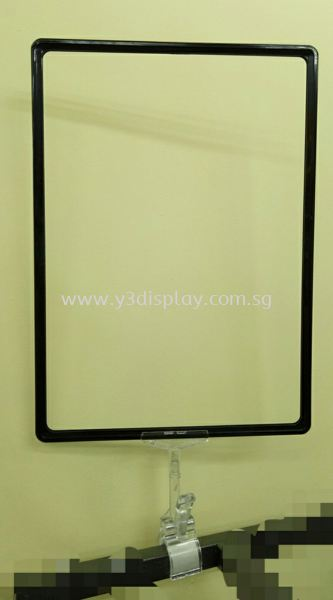17291-A3 Frame c/w Clear Clip Price Tag Frame System Price Tag And Accesories Singapore Supplier, Distributor, Supply, Supplies | Y3 Display and Storage Pte Ltd