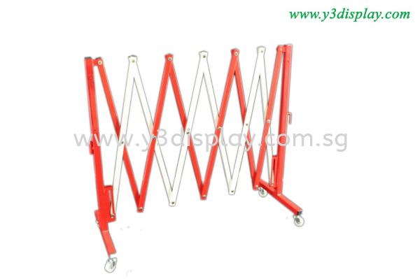 20492-Q-Up Pole-Red White Q-up Stand Singapore Supplier, Distributor, Supply, Supplies | Y3 Display and Storage Pte Ltd