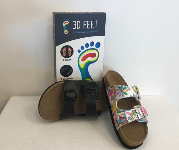 3D Feet Custom-made Sandal
