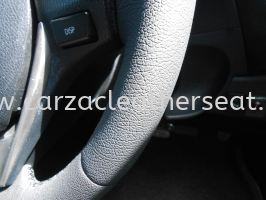 TOYOTA ALTIS 2015 STEERING WHEEL REPLACE LEATHER