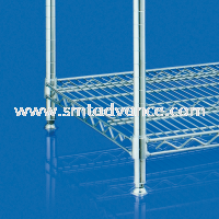 Close-up Wire Shelving