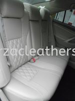 TOYOTA CAMRY 08 REPLACE LEATHER SEAT