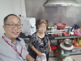 Cuckoo ICON Rental by Wan Li Engineering Sdn Bhd Installed @ Taman Selesa Jaya, Skudai, Johor.