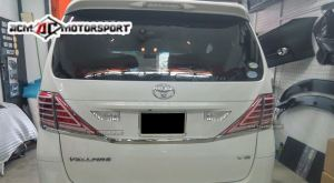Toyota Vellfire V desgin Led Sequential Signal Tail Lamp