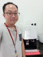 Cuckoo Hot & Cold Water Purifier Fusion Top Outright Installed @ Taman Ecocascadia, J.B. Johor