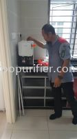 Cuckoo Water Purifier Fusion Top Outright / Cash Purchase Installed @ Taman Seri Alam, Johor