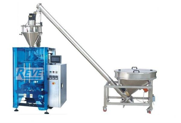 VERTICAL FORM FILL SEAL PACKING MACHINE WITH AUGER FILLER FULL SET