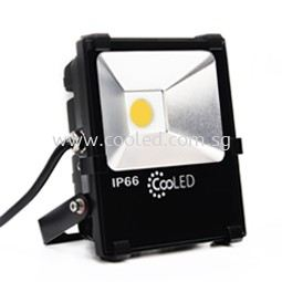 LED Floodlights for outdoor applications 33W with 4000 lumens