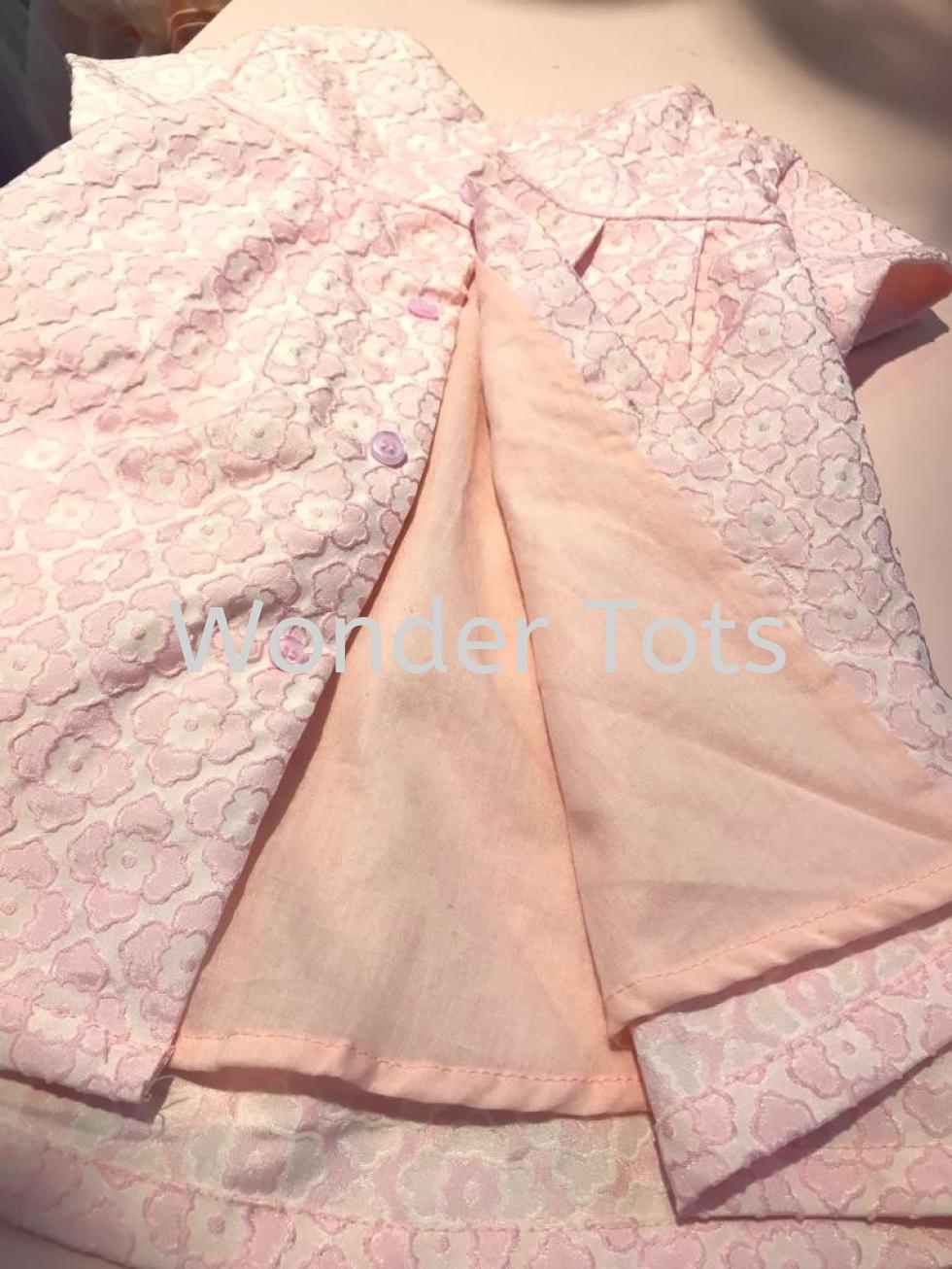 Toddler Chic Dress - Pink