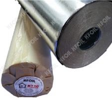 Double Sided Reflective Aluminium Paper Foil, Polyester Yarn Reinforced (K720)