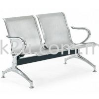 Steel Link Chair (2 Seater)