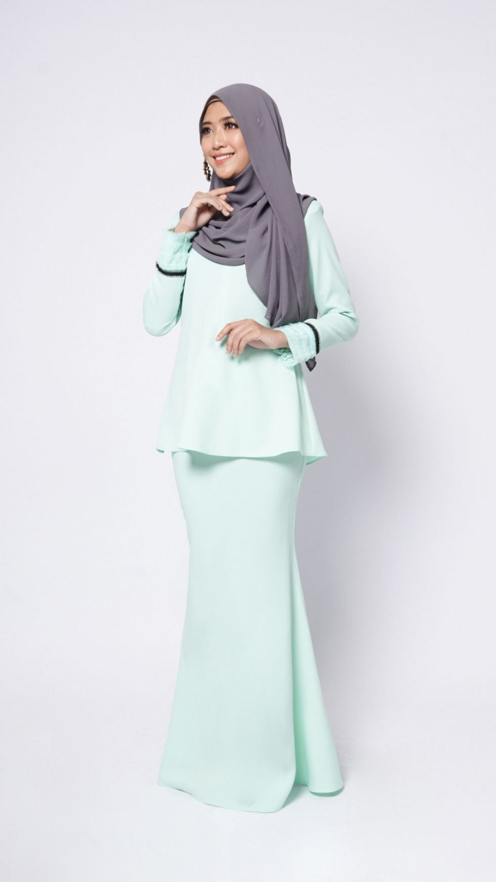 ALBINNA KURUNG - MINT GREEN