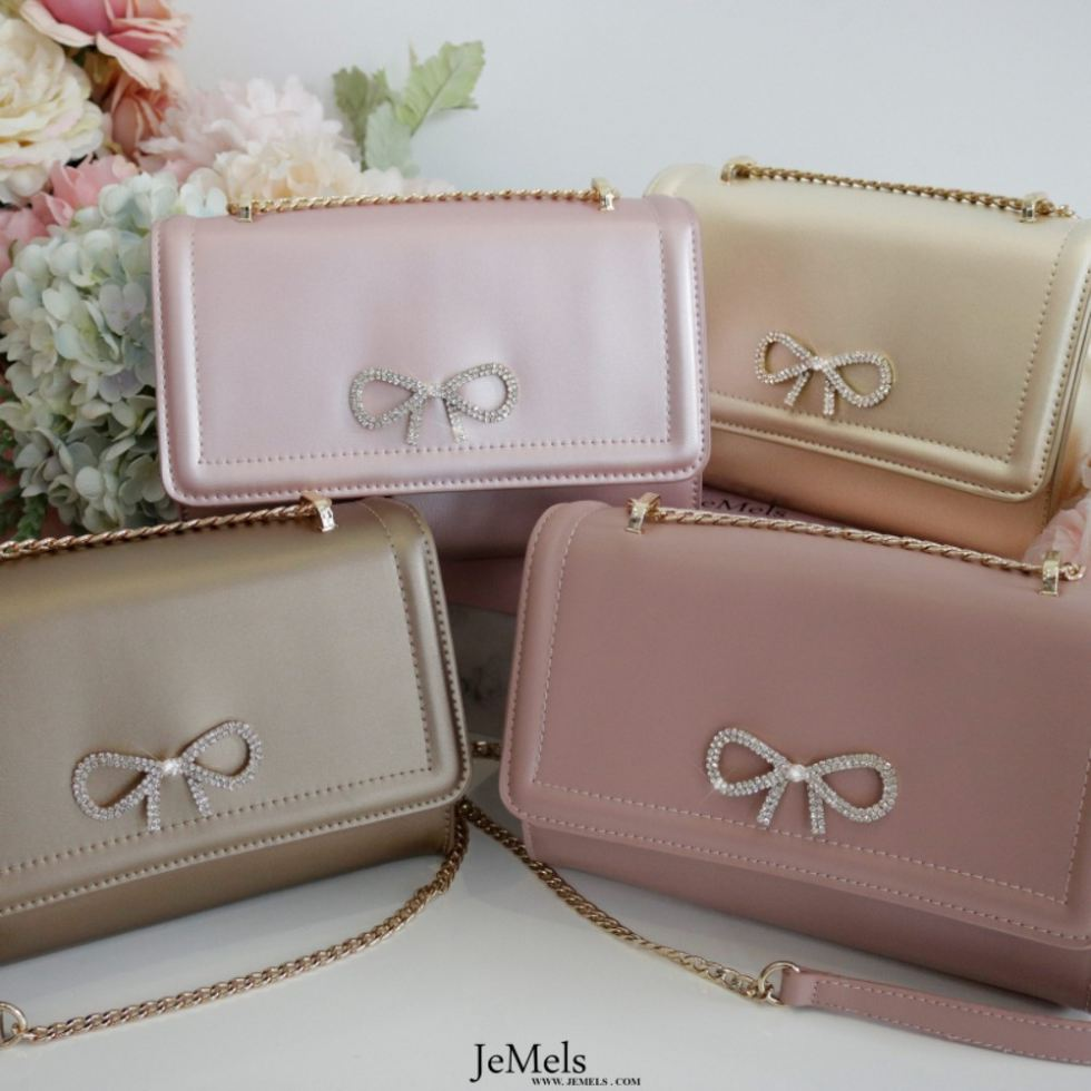 JEMELS CHERIELLE BAG - ROSE GOLD