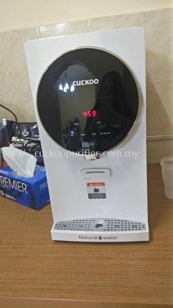 Cuckoo Water Purifier - Iris Hot, Cold, Warm installed @ Taman Setia Indah, Johor Bahru, Johor