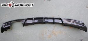 BMW F30 m sport Performance single outlet carbon rear difusser