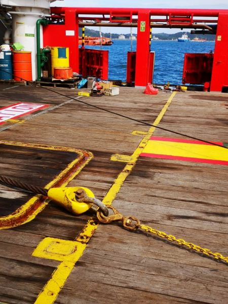 Cable Socketing on Board Ships