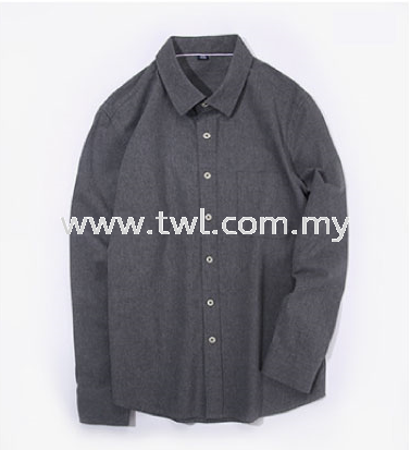 Casual Full Cotton Long Sleeve Uniform