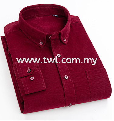 TR Wool Long Sleeve Uniform Colour Chart
