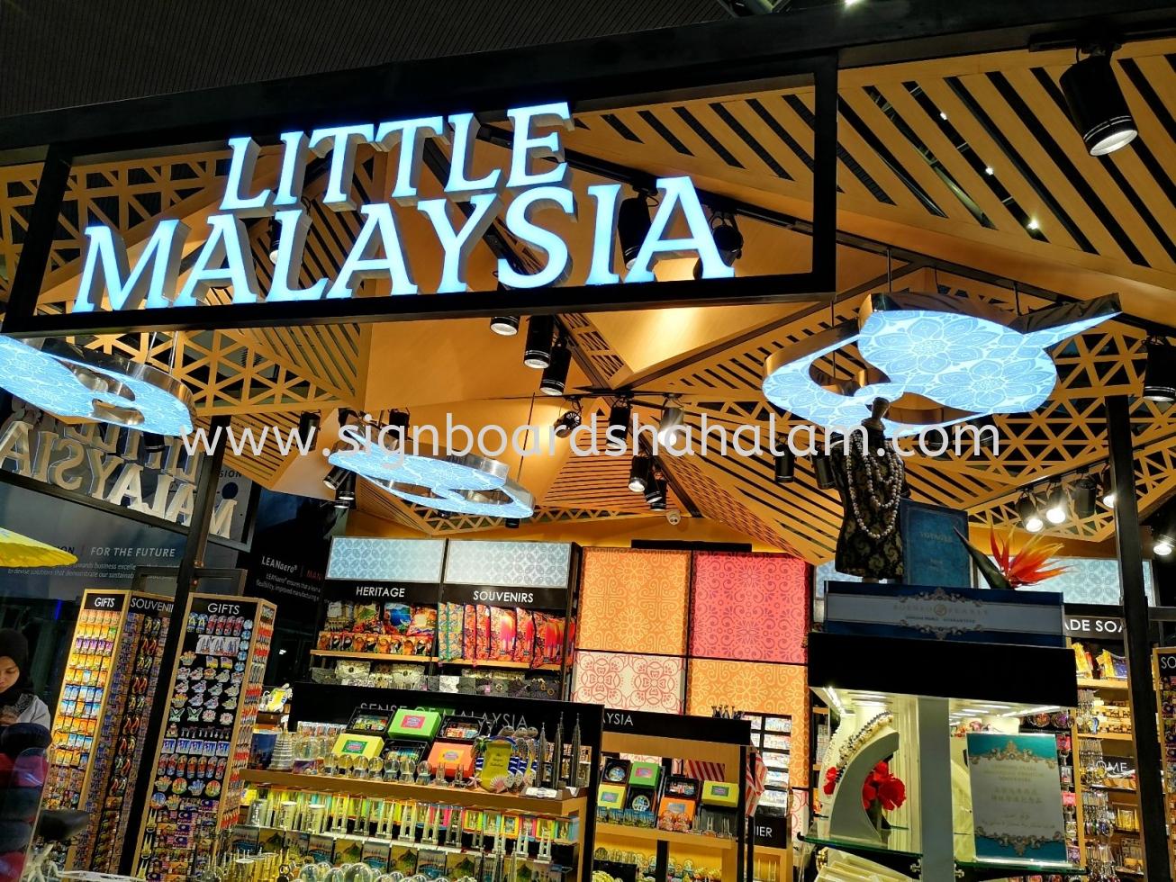 Little Malaysia Signage, KLIA