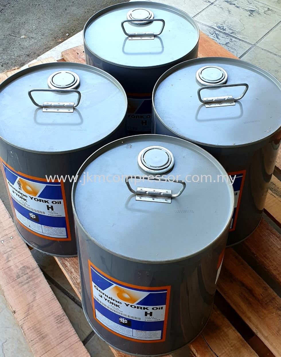"""011-00549-000 - YORK COMPRESSOR OIL """"H"""" ; 5 GALLON (18.9 LITERS)"""