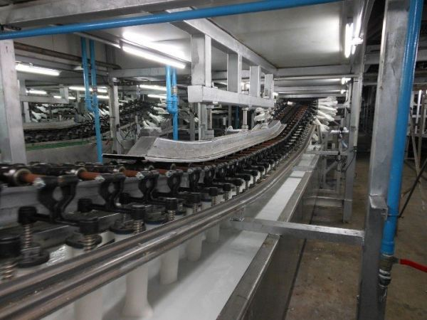 Latex tank with chain lengths of up to 1,700 metres