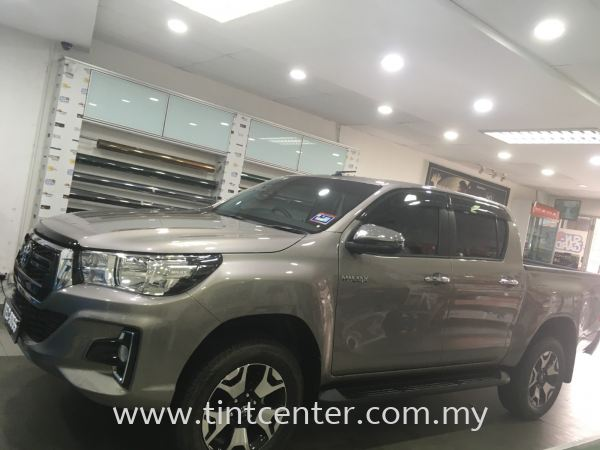 Toyota Hilux Car Tinted