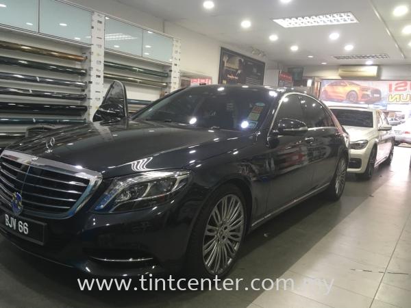 Mercedes Car Tinted