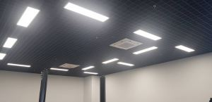 Aluminium Cell Ceiling - Porche Showroom
