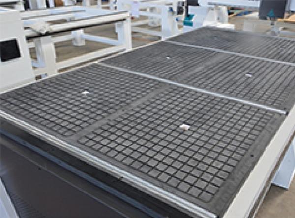 Optional Vacuum Table