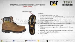 Caterpillar Holton Men's Safety Shoes Malaysia