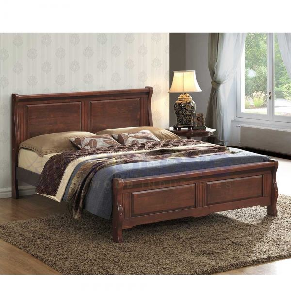 Classic Timeless Solid Wood Bed HL6576