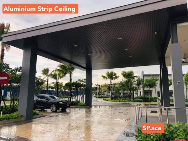 Outdoor Strip Ceiling