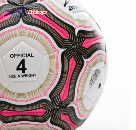 ATTOP FOOTBALL AT-EUROPEON PINK SIZE 4