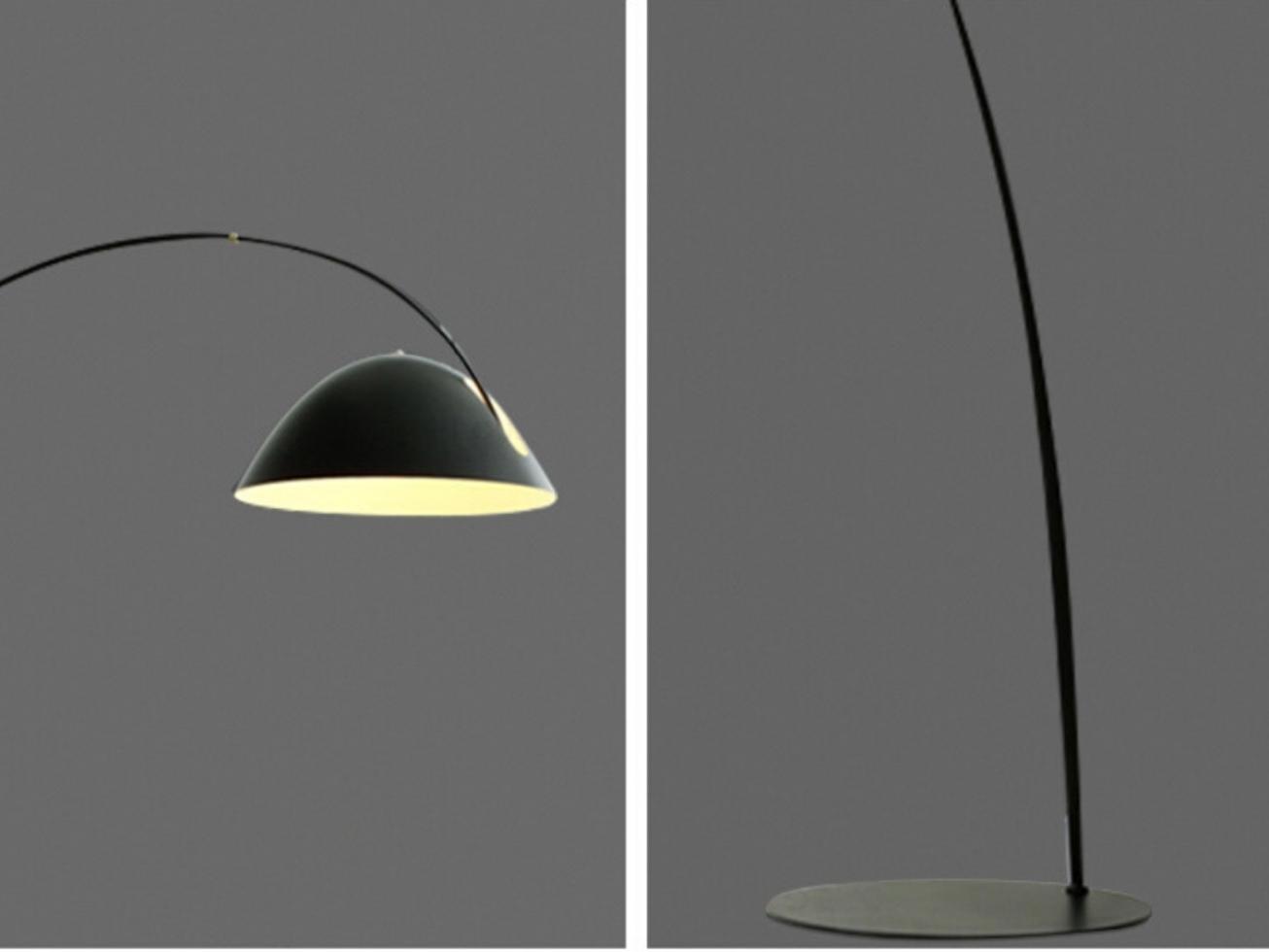 IP-BSF BLACK SUAVE FLOOR LAMP
