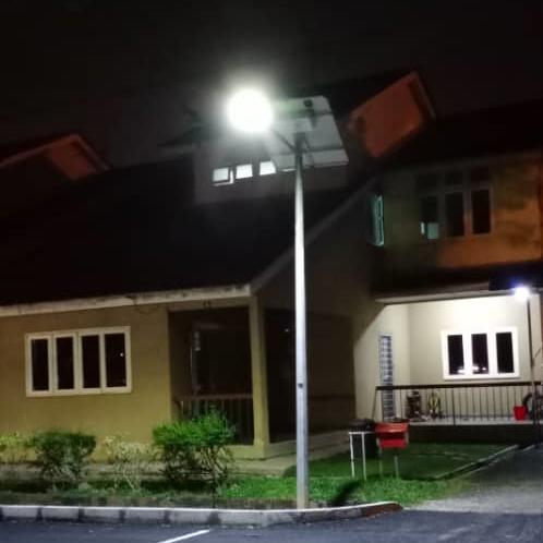 Solar Street Light at residential houses