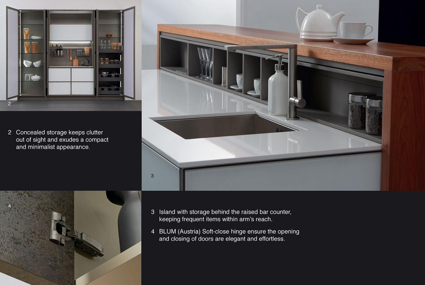 Aluminium Kitchen Cabinet - B-Class Series