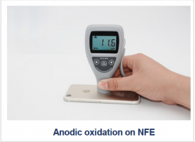 Anodic oxidation on NFE