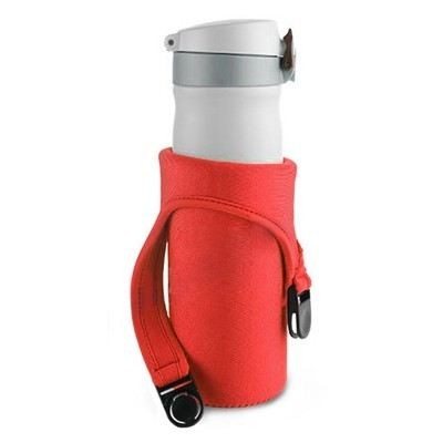 Buckle Release Neoprene Thermos Mug Cover - BX 126