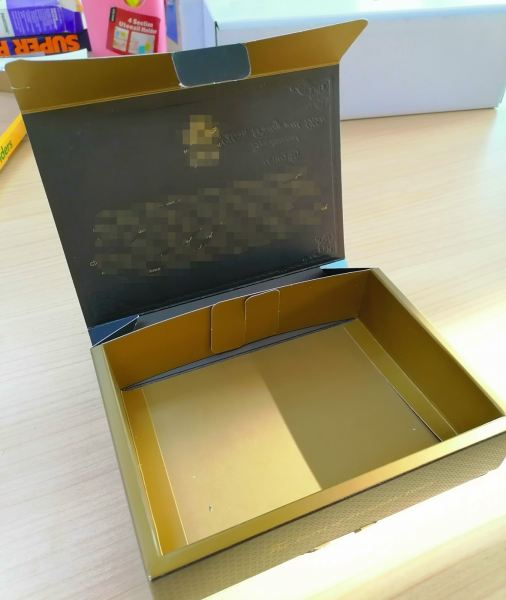 Inner View - Printed Biscuit Box