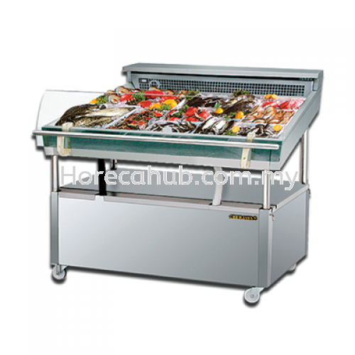 FISH DISPLAY CASE - PIPING SYSTEM (FDC 4)