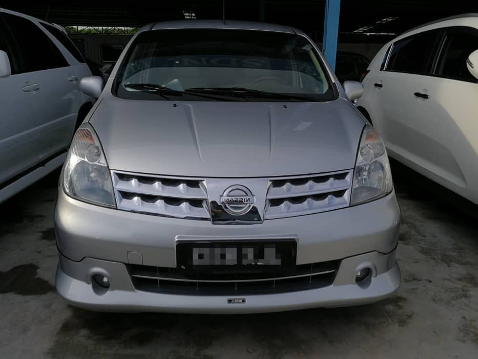 2009 Nissan GRAND LIVINA 1.8 IMPUL (A) Full Loan