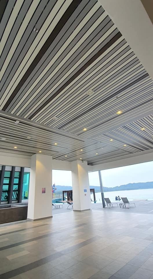 Aluminium Strip Ceiling