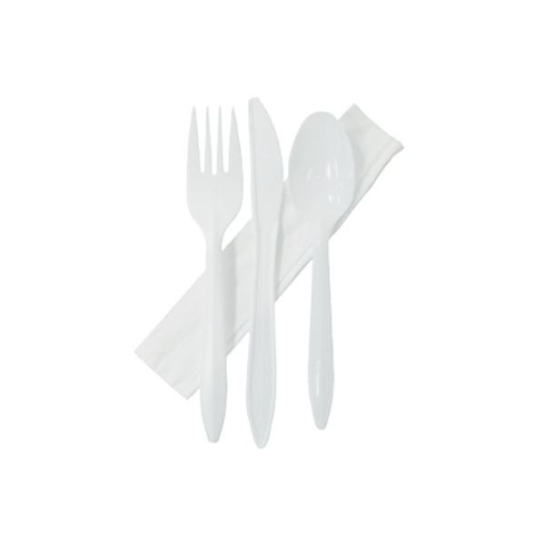 Plastic Cutlery (White)
