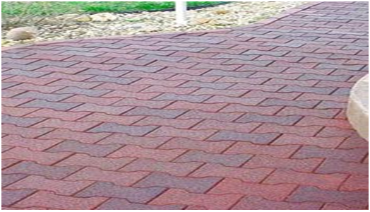 Recycled Rubber I Paver